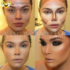 dont worry smile - makeup miracle #face #changing #perfection #ugly #beauty #amusing #joke #funny #rire #gag #giggle - Funomenia