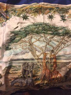 gucci scarf silk Made In Italy W/ Tag #Gucci #Scarf