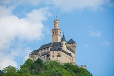 """Marksburg - This is <a href=""""https://en.wikipedia.org/wiki/Marksburg"""">Marksburg castle</a>, located in Braubach, Germany. The castle is well preserved, although it got hit by allied bombs during WWII. It also offers great view towards the Rhine river. <a href=""""https://500px.com/photo/157839883/marksburg-view-by-ivan-uzunov"""">Here is a photo of the view from the caslte</a>"""
