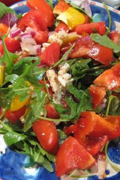 Weight Watchers Friendly Italian Leafy Green Salad Recipe 110 Calories and 4 WW SmartPoints