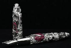 The most expensive pen in the world costs around $730000 and has over 800 diamonds in it.