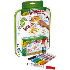 Crayola Dry Erase Go Anywhere Washable Marker Board Set-