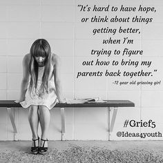 Are you a child or teen experiencing the pain of divorce? We want you to know you're not alone. We support you in your grief.  November 19th we will be hosting a conversation on the topic of grief experiences of children and teens impacted by divorce, death, incarceration, deployment and foster care. During the next month we will be using #Grief5 to highlight grief experiences of youth. We'd love you to join in on the conversation about best practices for #educators and anyone working with…