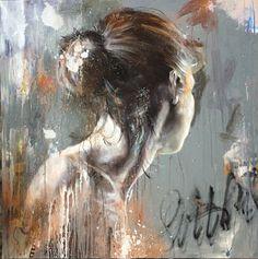 Figure Painting, Oil Painting On Canvas, Painting & Drawing, L'art Du Portrait, Abstract Portrait, Life Drawing, Art Plastique, Face Art, Erotic Art