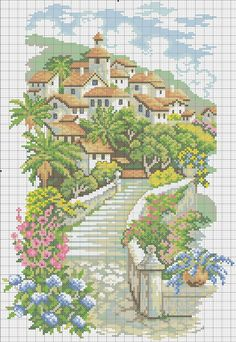 Cross Stitch *<3* Paysage