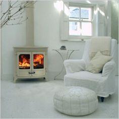 Ideas for house interior ideas lounge log burner Wood Burning Stoves Uk, Wood Burning Logs, Freestanding Fireplace, Living Room White, Log Burner, New Room, Design, Office Furniture, Furniture Ideas