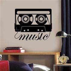 Adesivo de Parede Fita Music