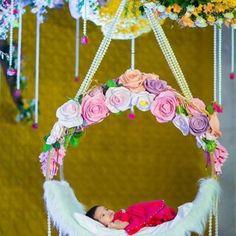 "Naming Ceremony Decoration or Cradle Ceremony Decoration planners, organizers, and decorators in Pune. Naming Ceremony is also known as ""Cradle"" and in Marathi ""Barse"" or ""Namkaran Sohala"".Sukanya Events have tremendous naming ceremony decorations. Festival Decorations, Ceremony Decorations, Baby Shower Decorations, Flower Decorations, Naming Ceremony Invitation, Flower Invitation, Baby Shower Invitations, Invitation Cards, Wedding Invitation"