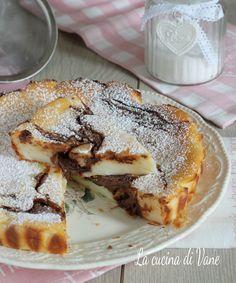 Ricotta Dessert, Ricotta Cake, Nutella Light, Best Italian Recipes, Tasty, Yummy Food, Keto Bread, Sweet Desserts, Food To Make