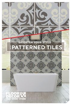 Get Inspired Brighten Your Style With Patterned Tile