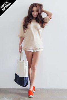 Today's Hot Pick :ナチュカジタオル地半袖Tシャツ http://fashionstylep.com/SFSELFAA0024203/stylenandajp/out