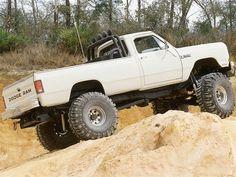1985 Dodge - Off-Road Magazine - Four Wheeler Ram Trucks, Dodge Trucks, Dodge 300, Power Ram, Electric Winch, Dodge Diesel, Dodge Power Wagon, Cummins, Mopar