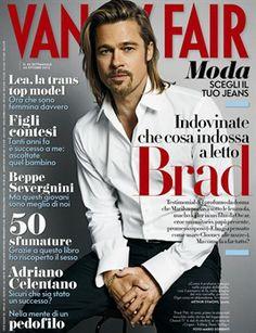 VANITY FAIR BRAD PITT | Brad, in copertina sul prossimo Vanity Fair , a tutto campo. Dall ...