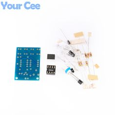 Blue Led 5MM Light LM358 Breathing Lamp Parts Kit Electronics DIY Interesting Product Suite #electronicsprojects #electronicsdiy #electronicsgadgets #electronicsdisplay #electronicscircuit #electronicsengineering #electronicsdesign #electronicsorganization #electronicsworkbench #electronicsfor men #electronicshacks #electronicaelectronics #electronicsworkshop #appleelectronics #coolelectronics