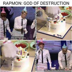 God of Destruction back at it again. K bye