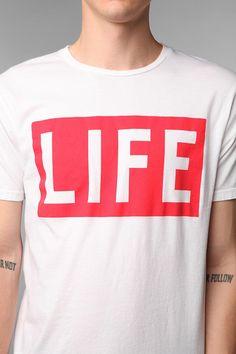 Altru Life Logo Tee  #UrbanOutfitters