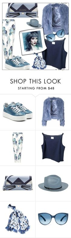 """""""down by the riverside"""" by tatarataratata ❤ liked on Polyvore featuring Kenzo, Glamorous, Tory Burch, Karl Lagerfeld, Emporio Armani, White House Black Market and Mosevic"""