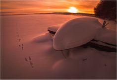 Finnish winter ... by Valtteri Mulkahainen on 500px