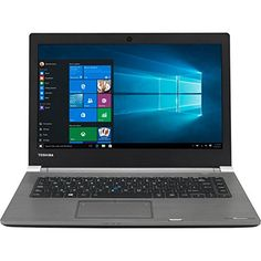 "cool Toshiba PS463E-01F00GCE - Ordenador portátil de 14"" (Intel Core i5-6200U, memoria RAM de 8 GB, disco duro de 500 GB, Windows 7 Professional) negro"
