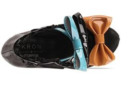 Kron By Kron Kron KR 14 in Black Blue Orange at Solestruck.com