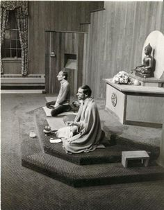 Jack Kornfield and Joseph Goldstein teaching circa 1970s