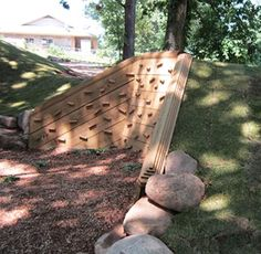 Love the idea of building this into our natural hill.