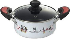 Disney Mickey Mouse cast iron enamel kitchen both hands pot 18cm from Japan  | Collectibles, Animation Art & Characters, Animation Characters | eBay!