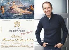 Wine and Art - Jeff Koons Label design for the 2010 Chateau Mouton Rothschild