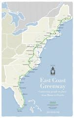 The East Coast Greenway connects biking and walking paths and will eventually create a park from Maine to Florida. Pacific Coast, East Coast, Cross Country Bike, River Trail, Bike Path, Bicycle Maintenance, Florida Keys, Florida Travel, Daytona Beach