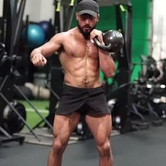 Try this full body single kettlebell flow -5 reps each side -4 to 6 rounds -plenty of rest for quality reps