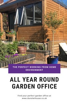 Struggling to focus when working from home? A garden office can create the perfect working environment where you complete your 9 - 5 day without any distractions. Check out our range today!