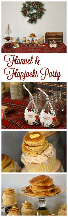 Flannel & Flapjacks Christmas Party - Gluten Free Frenzy