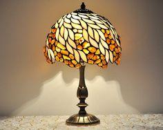 Lámpara de sobremesa  pantalla de 8 hecha de vidrio y
