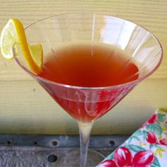 "Cosmo-Style Pomegranate Martini |""Made this for a holiday party and they were a HIT!"""