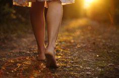 Mujer andando