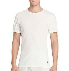 Polo Ralph Lauren® Men's 3-Pack Slim Fit Crewneck Undershirts