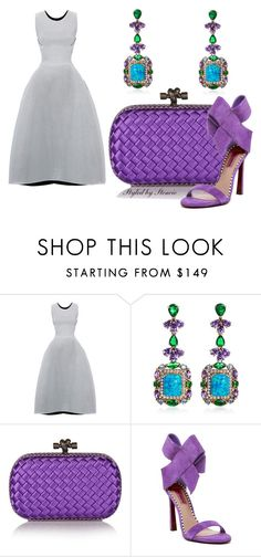 """""""The Jewel"""" by stencie on Polyvore featuring Maticevski, Anabela Chan, Bottega Veneta and Betsey Johnson"""