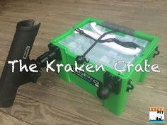 Kraken Crate: The Ultimate DIY Kayak Fishing Crate - YouTube
