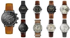 Top 9 des montres BARBOUR pour homme - L'Homme Tendance
