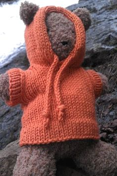Barrison Keweenaw Hoodie in Berroco Comfort. Discover more Patterns by Berroco at LoveKnitting. The world& largest range of knitting supplies - we stock patterns, yarn, needles and books from all of your favorite brands. Knitting Patterns Free, Free Knitting, Baby Knitting, Crochet Patterns, Free Pattern, Bear Patterns, Knitting Toys, Knitted Dolls, Crochet Dolls