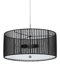 Buy the Cal Lighting Black Direct. Shop for the Cal Lighting Black Nianda 2 Light Pendant with Striped Shade and save. Plug In Pendant Light, Drum Pendant, Pendant Light Fixtures, Pendant Lighting, Ceiling Pendant, Mid Century Modern Lighting, Ceiling Decor, Hanging Lights, A Table