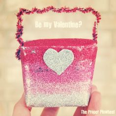 Reinvent the Chinese takeout box and use it for your Valentines!