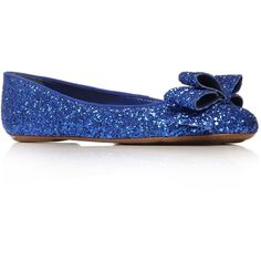 Blue Lolly Flat shoes - Flat shoes - Shoes & boots - Women - If this wasn't sparkly, it would be almost perfect Sparkly Flats, Glitter Flats, Blue Glitter, Shiny Shoes, Blue Shoes, Big Girl Clothes, Shoe Story, Best Flats, Shoes