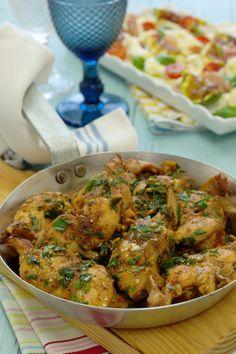 Cinco Quartos de Laranja: Coelho frito Portuguese Recipes, Portuguese Food, Dessert Recipes, Desserts, Lunch, Dinner, Cooking, Ethnic Recipes, Html