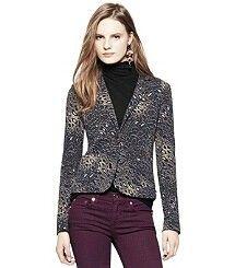 Leopard Tory Burch blazer