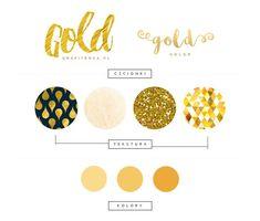 złoty kolor grafika złota grafika