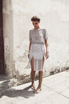 Gladiator Sandals Outfits Streetstyle Summer2