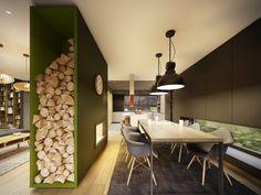 Projekt wnętrza domu // house interior design Lok. // loc: Jaworzno Powierzchnia // area: 157m² Rok // year: 2016