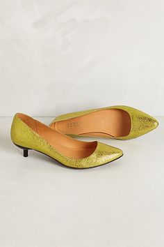 Mimi Kitten Heels #anthropologie