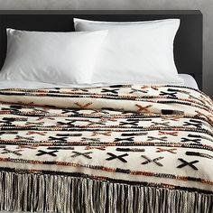 Handwoven Dorado Blanket | CB2